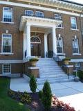 blaney college ' u szczytu izbie cedrowa Obrazy Royalty Free