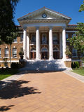 Blaney Hall, université de crête de cèdre Photographie stock