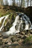 Blangy瀑布在Picardie,法国 图库摄影