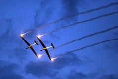 The Blanix Glider Team. Stock Image