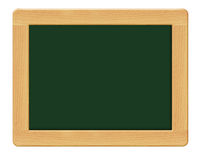 Blank. A blank green chalkboard with a wooden frame, chalk board Stock Photography