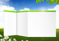 Blank abstract nature background Stock Photo
