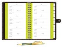 Blank address book Royalty Free Stock Image