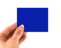 Blank adhesive note note Stock Images