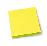 Blank adhesive note Royalty Free Stock Image