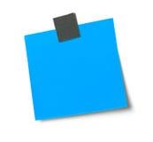 Blank adhesive note Royalty Free Stock Photos