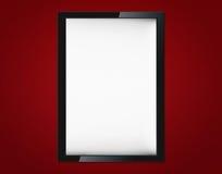 Blank advertising billboard Stock Photos