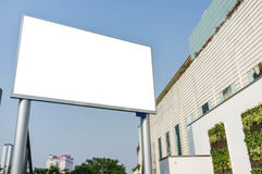 Blank Advertising LED Billboard Royalty Free Stock Photos