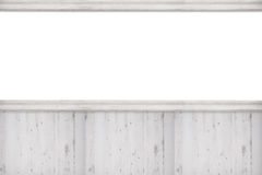 Blank Advertising Wall Royalty Free Stock Image