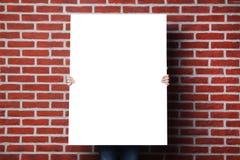 blank affisch royaltyfri foto