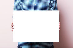 blank affisch arkivbilder