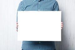 blank affisch royaltyfri bild