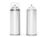 Blank Aluminum Spray Can Royalty Free Stock Photo