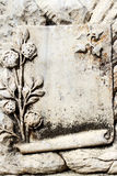 Blank Ancient Stone In Ephesus. It is possible to add note on it looks like old and different Stock Images