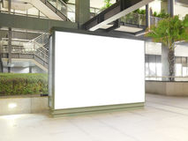Blank annonsering av brädet Royaltyfria Bilder