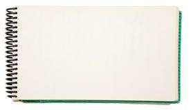 blank anteckningsbok royaltyfri fotografi