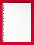 blank anteckningsbokredtabell Arkivfoton
