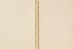 blank anteckningsboksidaspiral royaltyfria foton