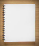 blank anteckningsbokspiral Arkivbilder