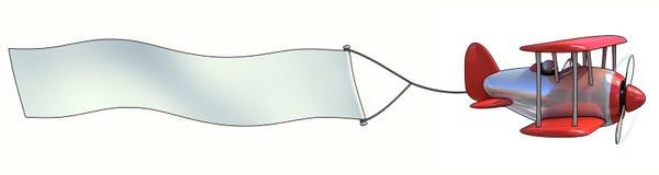 Blank antenn som annonserar stock illustrationer
