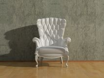Blank armchair Royalty Free Stock Image