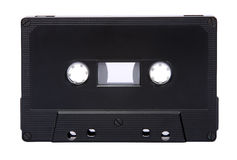 Blank audio tape isolated Royalty Free Stock Images