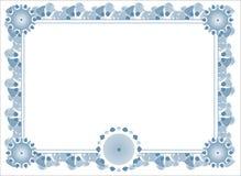Blank award template Stock Photo