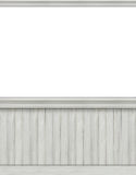 Blank backdrop with beadboard Royalty Free Stock Photos