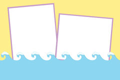 Blank background for greetings card Royalty Free Stock Images
