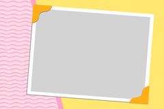 Blank background for greetings card. Postcard or photo frame Stock Image