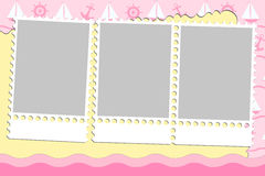 Blank background for greetings card Royalty Free Stock Image