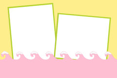 Blank background for greetings card Royalty Free Stock Photography
