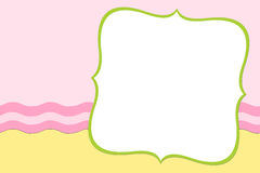 Blank background for greetings card Stock Image