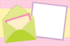 Blank background for greetings card Stock Photos