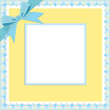 Blank background for greetings card Royalty Free Stock Photo