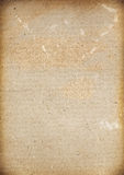 The blank background of the old menu with vintage. Bottles Royalty Free Stock Photos