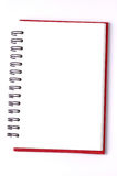 Blank background. paper notebooks isolated Stock Photography