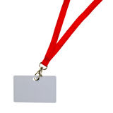 Blank badge Royalty Free Stock Image