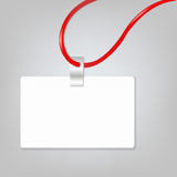 Blank Badge. Empty Blank Badge, Vector Illustration Royalty Free Stock Photo