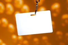 Blank badge Stock Photography