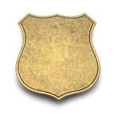 Blank Badge Stock Image