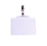Blank badge/ ID card  Royalty Free Stock Photography