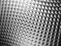 Blank bakgrund för abstrakt silverbump Royaltyfri Fotografi