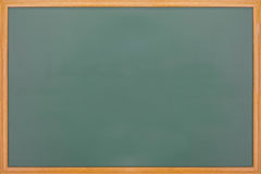 Blank balckboard with wooden frame Royalty Free Stock Photography