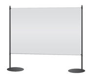 Blank banner Stock Photography