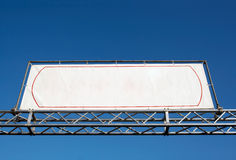 Blank banner Royalty Free Stock Image