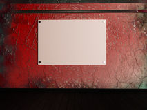 A blank banner Royalty Free Stock Images