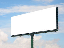 Blank big advertising board 2 Royalty Free Stock Images