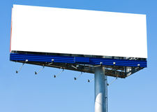 Blank big billboard Stock Image