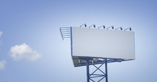 Blank Bilboard Stock Images